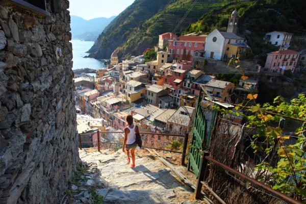 Cinque Terre - Vernazza from inside