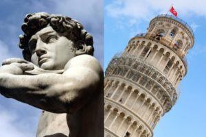 Florence & Pisa - Michelangelo's David and the Leaning Tower