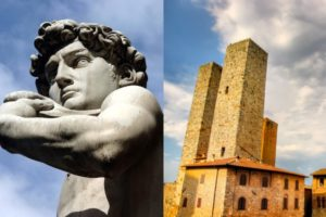 Florence & San Gimignano - Michelangelo's David and Medieval towers