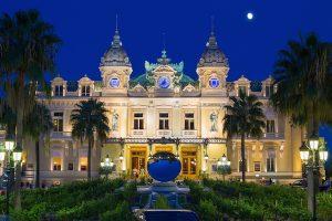 Monaco - the majestic Old Casino in Montecarlo
