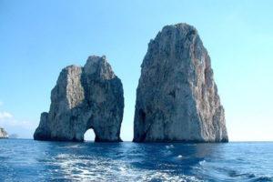 scogli Faraglioni on Capri