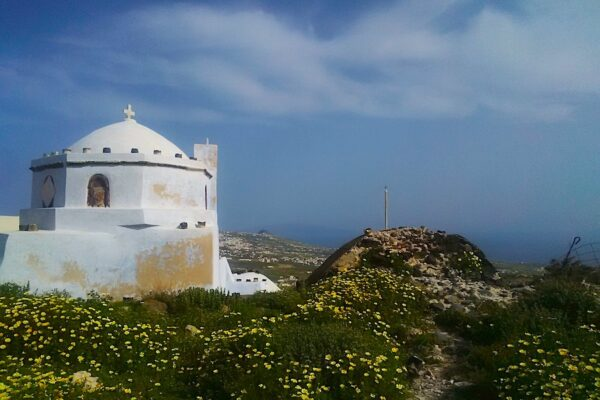 amazing views from the Kasteli in Pyrgos