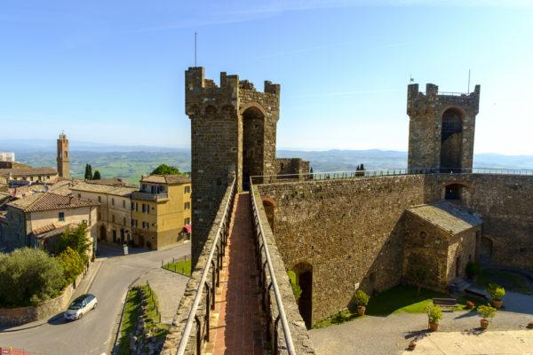 Montalcino Rocca fortress