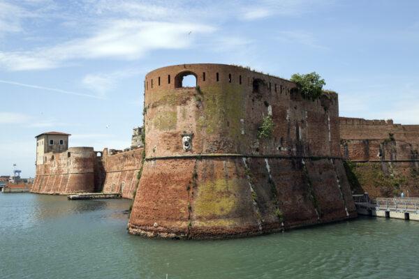 fortezza vecchia (the old fortress) in Livorno